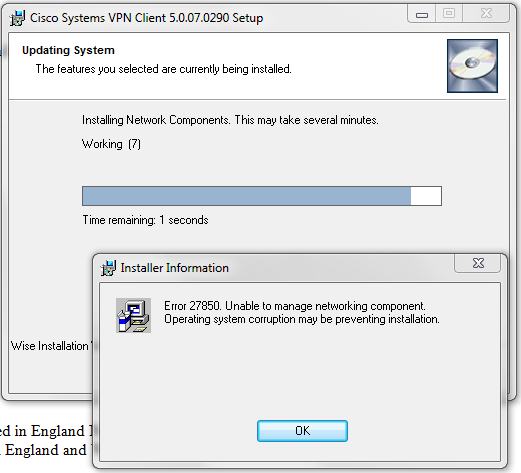 How to enable the Cisco VPN Client on Windows 10