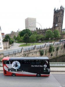 Witch Way Bus in Manchester