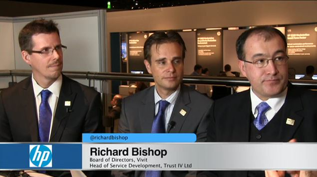 Vivit interview at HP Discover, Frankfurt