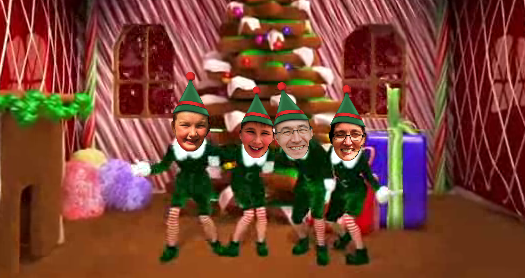 Elf Yourself Pic - 2012