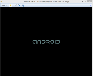 Android tablet in VMWare Player