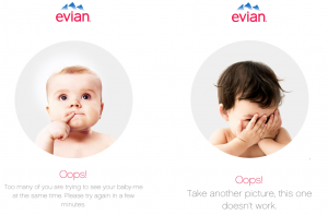 Evian Error screenshots