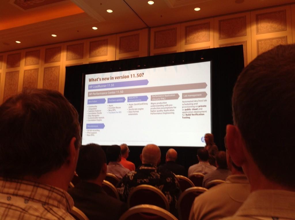 LoadRunner 11.52 session HP Discover
