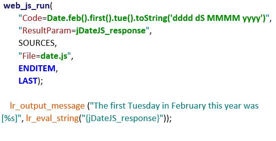 JavaScript example in LoadRunner